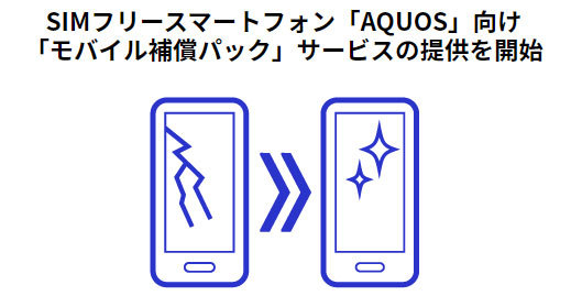 シャープからAQUOS向け「モバイル補償パック」提供開始ってなに?